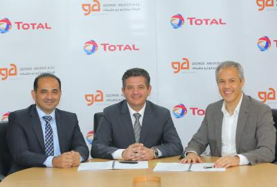 George Abu Zeid & Co. announced a new partnership with Total  Jordan